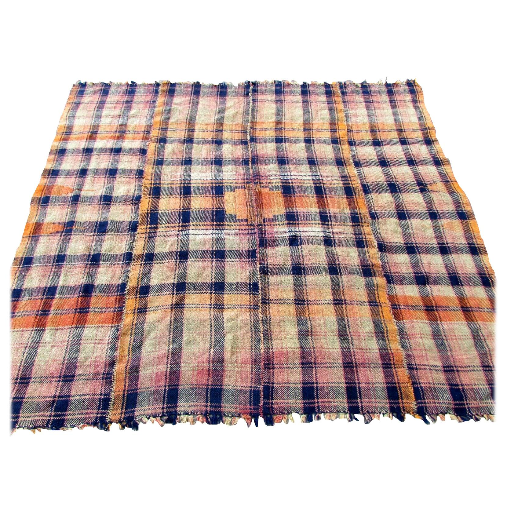 Handmade Vintage Mojj Style Kilim, 1960s, 1Q0308