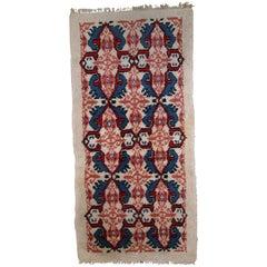 Handmade Vintage Moroccan Berber Кгп, 1970s, 1С713