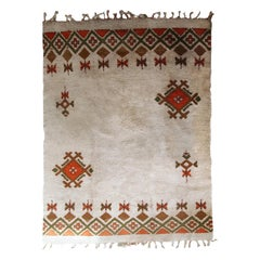 Handmade Vintage Moroccan Berber Rug, 1950s, 1C693