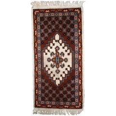 Handmade Vintage Moroccan Berber Rug, 1970s, 1C629