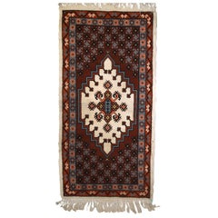 Handmade Vintage Moroccan Berber Rug, 1970s, 1C630