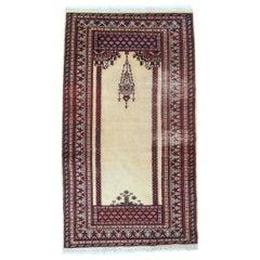 Handmade Vintage Pakistani Lahore Rug, 1960s, 1С716
