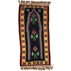 Handmade Vintage Prayer Turkish Anatolian Kilim, 1970s, 1C711