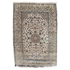 Handmade Vintage Tabriz Style Rug, 1940s, 1Q0165