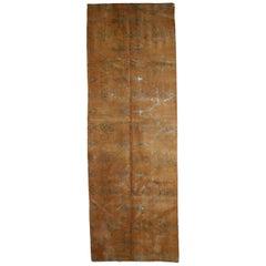 Handmade Vintage Tibetan Modern Rug with Silk, 1980s, 1B769