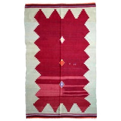 Handmade Vintage Turkish Anatolian Kilim, 1950s, 1P54