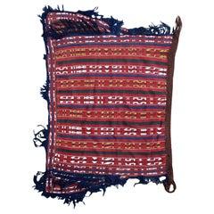 Handmade Vintage Turkish Anatolian Saddle Bag, 1900s, 1P72