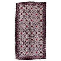 Handmade Vintage Turkmen Tekke Rug, 1970s, 1Q0004