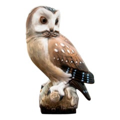 Handpainted Owl Figurine from Royal Crown, 1940