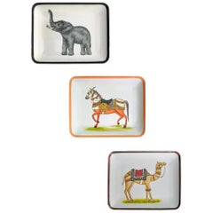 Handpanited Vide-Poches, Pin Tray Set of 3