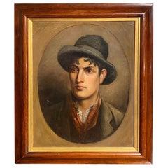 Handsome 19th Century Portrait of an Irishman