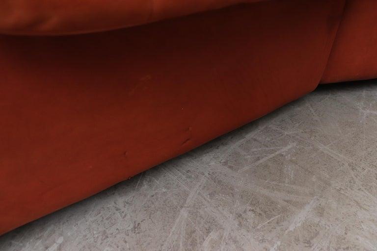 Handsome De Sede DS 66 5-Piece Cognac Leather Sectional Sofa For Sale 4