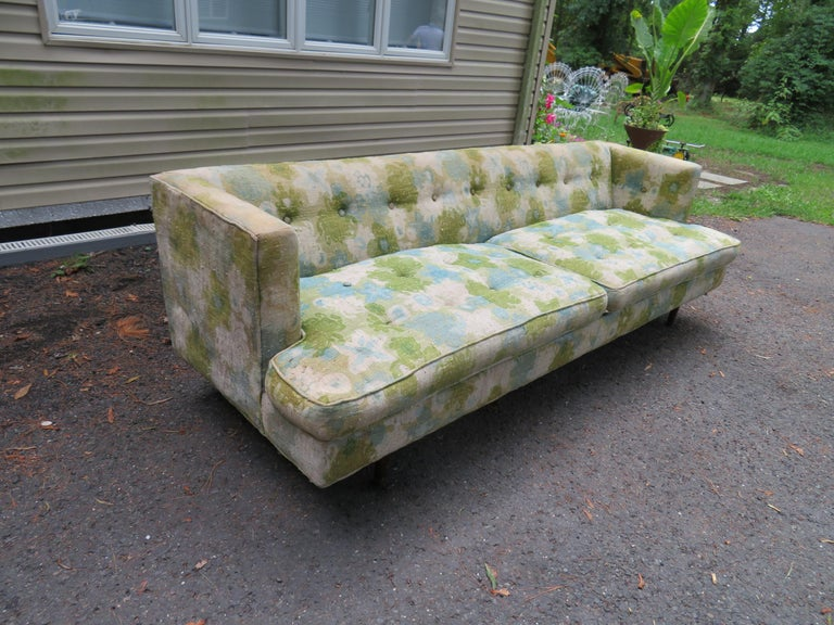 Handsome Dunbar Even Arm Sofa by Edward Wormley Mid-Century Modern For Sale 6