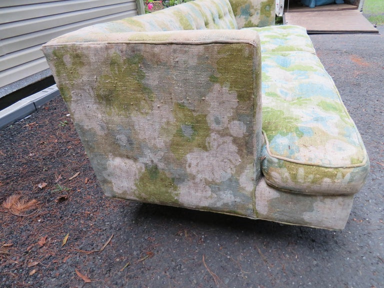 Handsome Dunbar Even Arm Sofa by Edward Wormley Mid-Century Modern In Good Condition For Sale In Medford, NJ