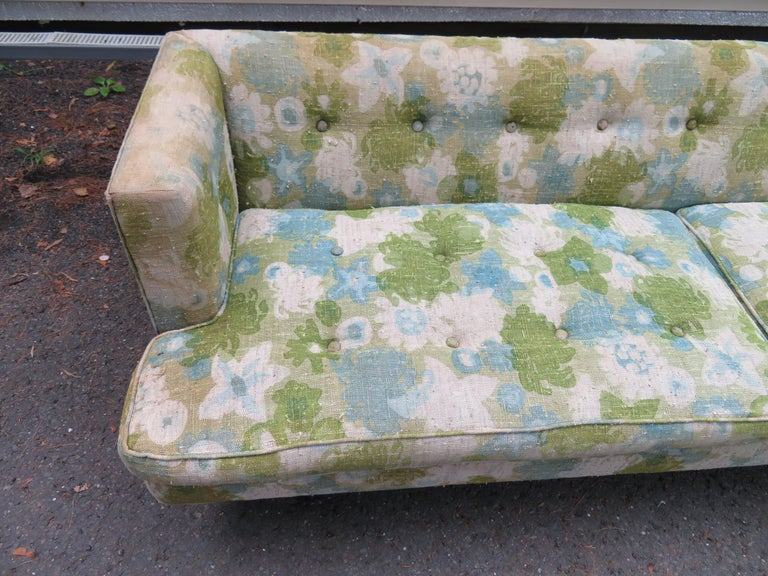 Mid-20th Century Handsome Dunbar Even Arm Sofa by Edward Wormley Mid-Century Modern For Sale