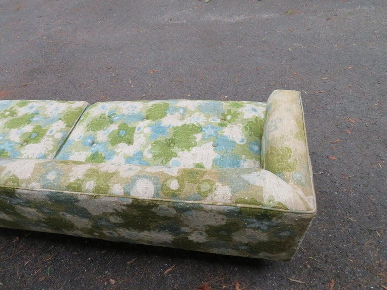Handsome Dunbar Even Arm Sofa by Edward Wormley Mid-Century Modern For Sale 2