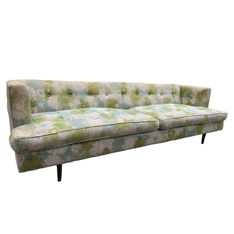 Handsome Dunbar Even Arm Sofa by Edward Wormley Mid-Century Modern For Sale