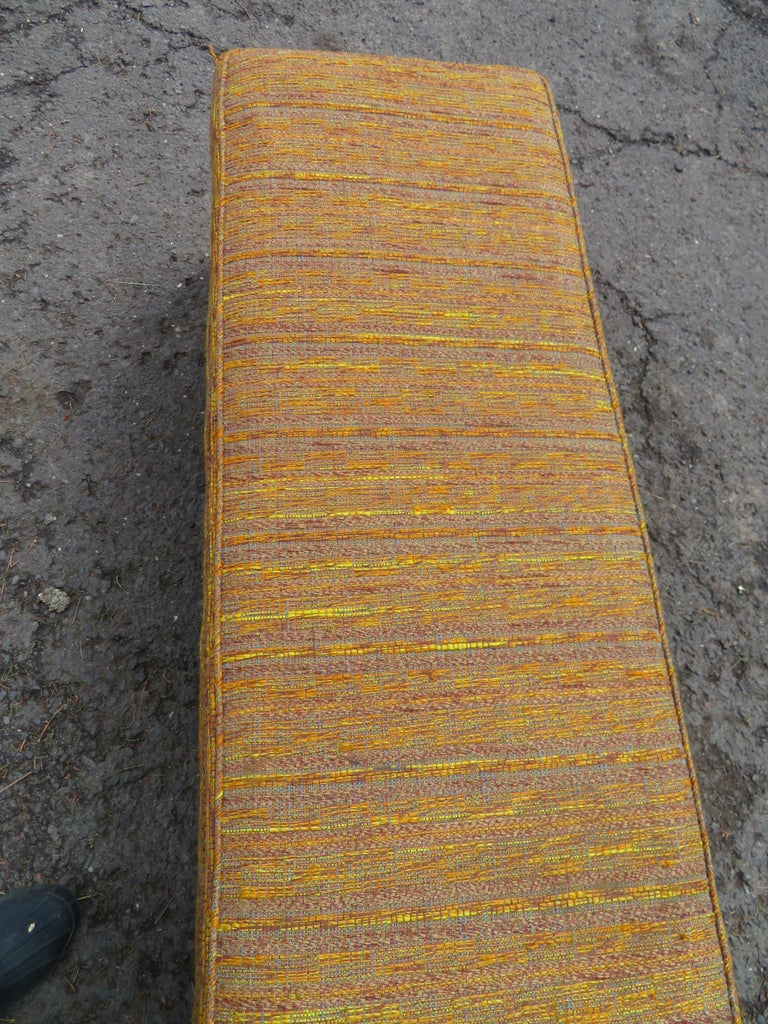 Handsome Edward Wormley for Dunbar Long Bench Mid-Century Modern For Sale 5