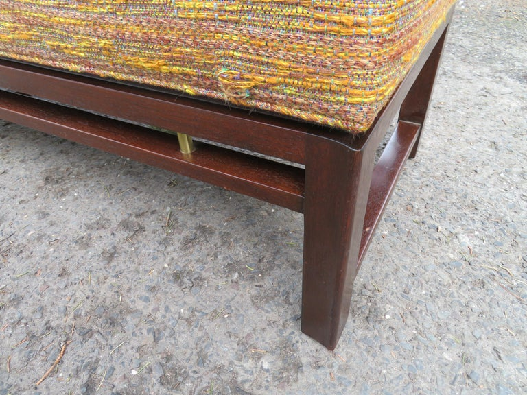 Mid-20th Century Handsome Edward Wormley for Dunbar Long Bench Mid-Century Modern For Sale