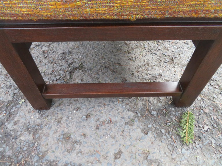 Handsome Edward Wormley for Dunbar Long Bench Mid-Century Modern For Sale 2