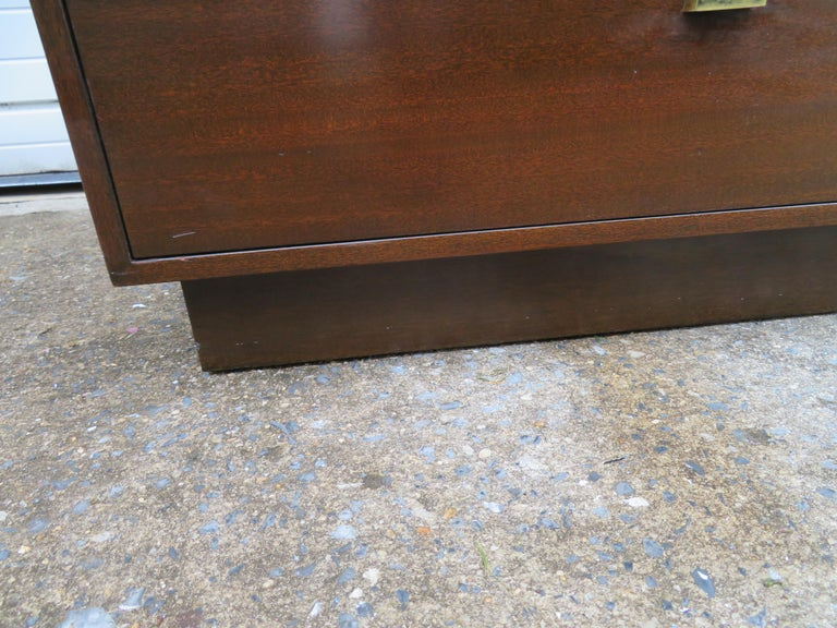 Handsome Harvey Probber Small Chest Cabinet Nightstand Mid-Century Modern For Sale 6