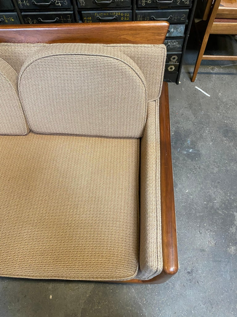 Mid-20th Century Handsome Mid-Century Modern Sofa, Manner of Adrian Pearsall For Sale