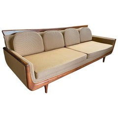 Handsome Mid-Century Modern Sofa, Manner of Adrian Pearsall