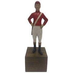Handsome New York 21 Club's Sculpture of a Jockey