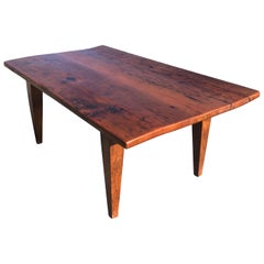 Handsome Rustic Maine Artisan Crafted Pine Coffee Table