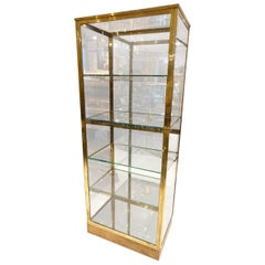 Handsome Vintage French Boutique Vitrine Display Unit