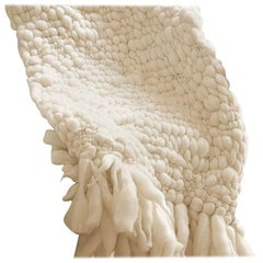 Handwoven 100% Baby Merino Wool Throw Made in Argentina, in Stock