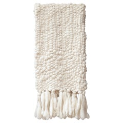 Handwoven 100% Baby Merino Wool Throw, Thick Weave, Made in Argentina