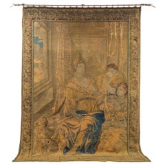 Handwoven 18th Century Flemish Tapestry