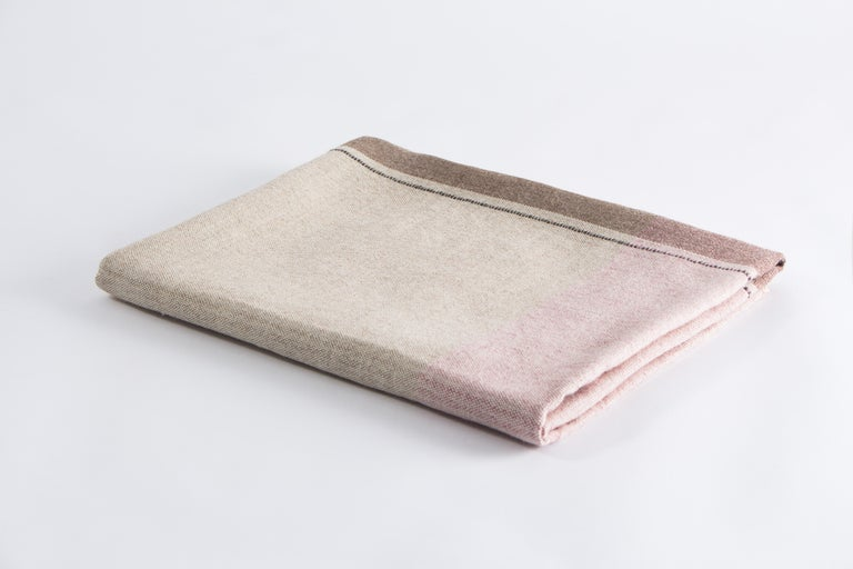 Studio Altar presents daily rituals in collaboration with Allpa, a Peruvian Fairtrade brand working with artisans for 35 years. Handwoven in the Andes of Peru, the throws are made of the softest Alpaca wool and represent the contrast of earth and