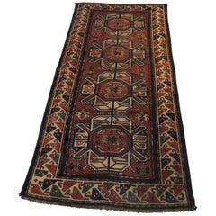 Handwoven Antique Caucasian Karabagh Rug