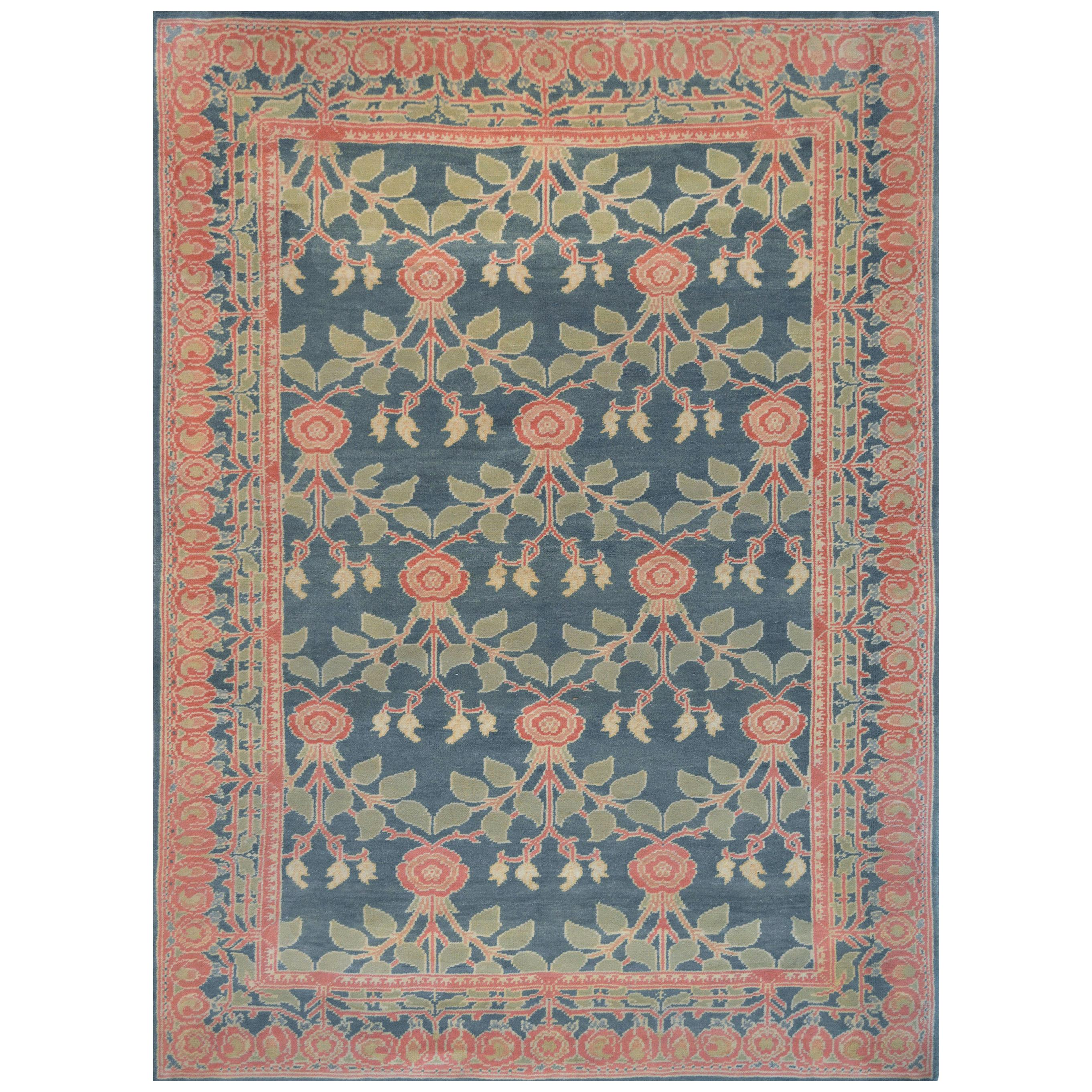 Handwoven Arts & Crafts Rug
