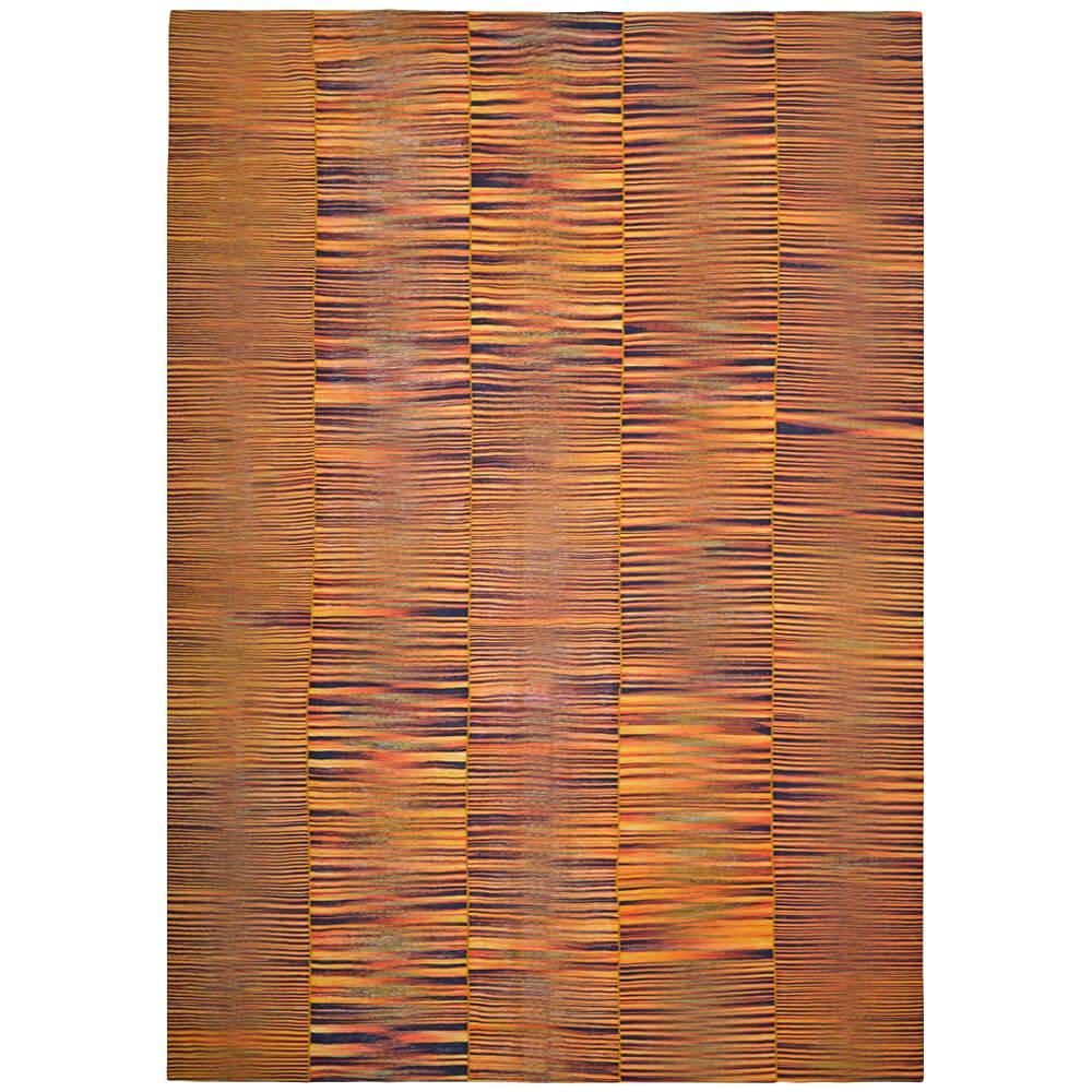 21st Century Handwoven Bright Mazandaran Kilim Carpet