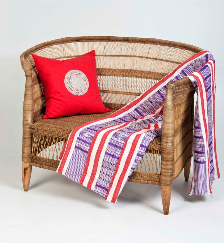 Effortless, yet intricately detailed, the wooden/bamboo frame 'Traditional' chair settles in comfortably in any room or deck – just quietly owning the space it's in. Also known as Malawi chairs - these are quickly gaining popularity worldwide due to