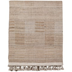 Handwoven Indian Bedcover