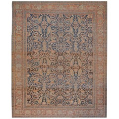 Handwoven Late 19th Century Persian Sultanabad
