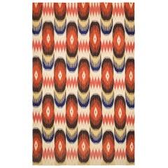Handwoven Modern Kilim Carpet