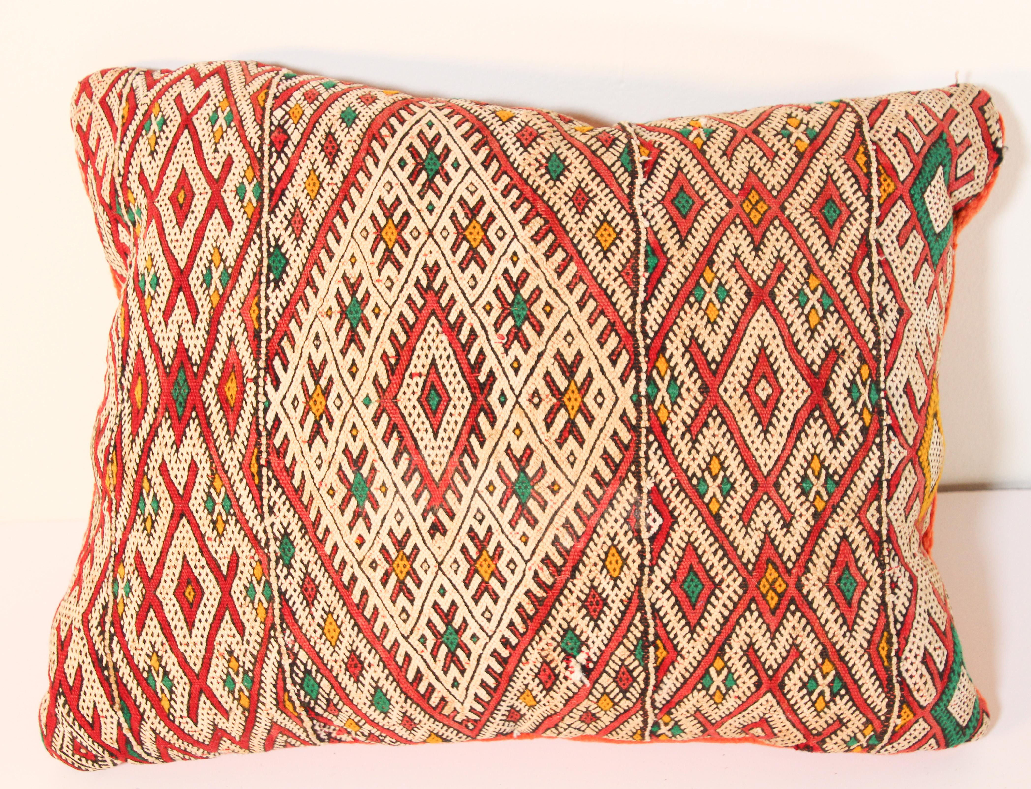 Handwoven Moroccan Berber Throw Pillow At 1stdibs