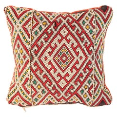 Handwoven Moroccan Tribal Berber Pillow