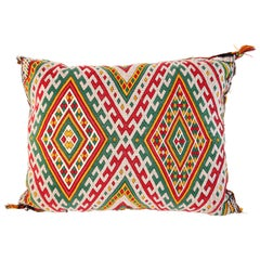 Handwoven Moroccan Tribal Berber Throw Pillow