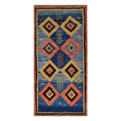 Handwoven Persian Carpet with Vibrant Colors