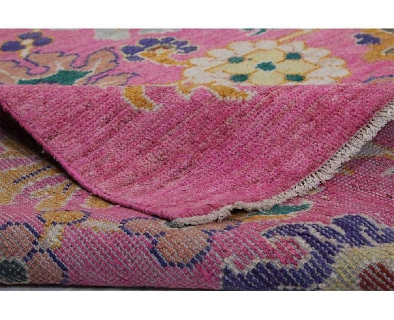 Hand-Woven Handwoven Persian Sultanabad Recreation Rug For Sale