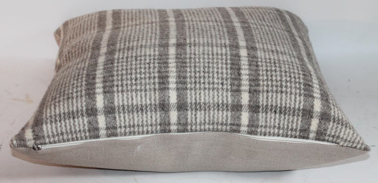 Handwoven Saddle Blanket Pillows, Four For Sale 1