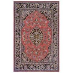 Handwoven Tabriz Inspired Rug