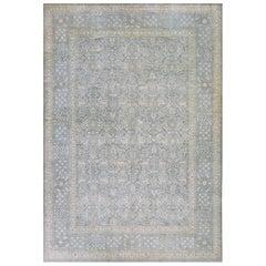 Handwoven Tabriz Inspired Wool Rug