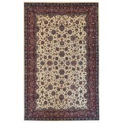 Handwoven Tabriz Rug